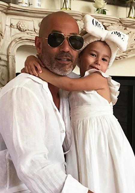 Лев Гейхман с дочерью Оливией