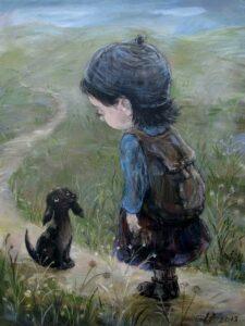 577810 588085971202661 1609691432 n 225x300 - Ангелы Нино: живопись как паломничество в детство