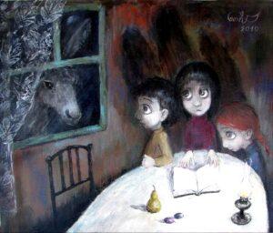 418048 original 300x256 - Ангелы Нино: живопись как паломничество в детство