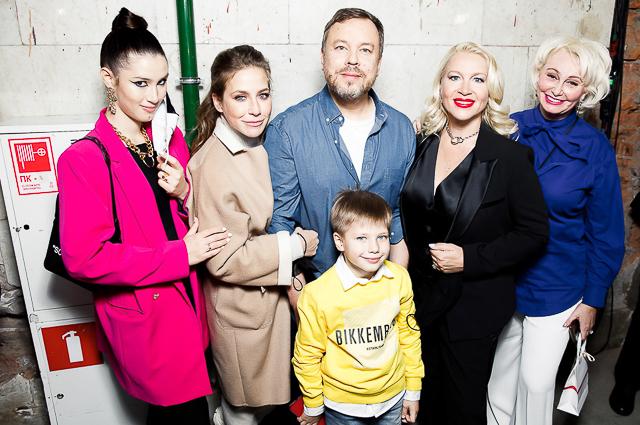Дина Немцова, Юлия Барановская с сыном Арсением, Игорь Чапурин и Екатерина Одинцова
