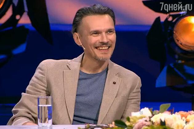 Влад Сташевский на съёмках шоу