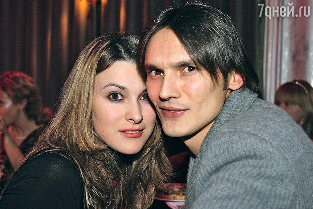 Влад Сташевский с женой Ириной (фото 2007 г.)