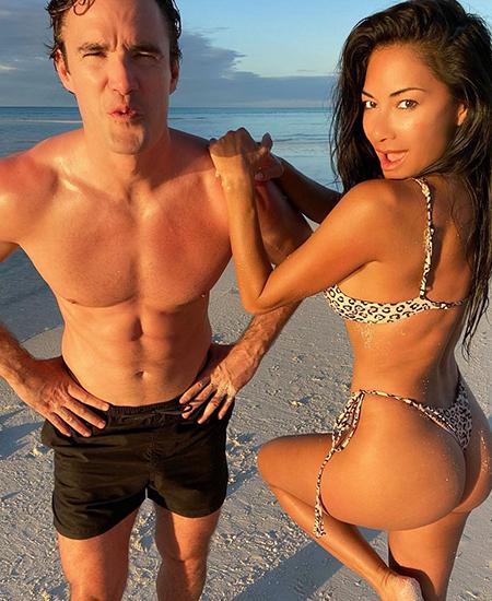 Николь Шерзингер и Том Эванс отдыхают на островах Теркс и Кайкос