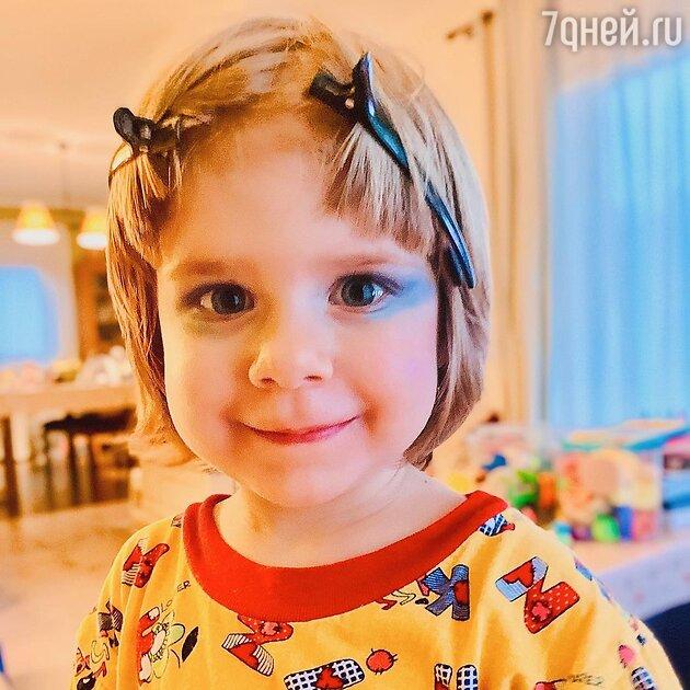 Дочь Юлии Савичевой