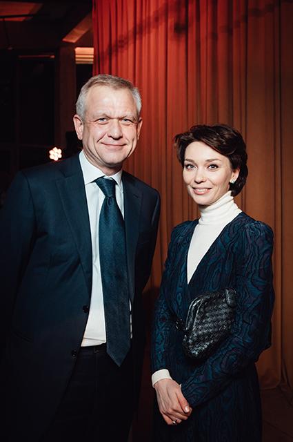 Сергей Капков и Евгения Милова