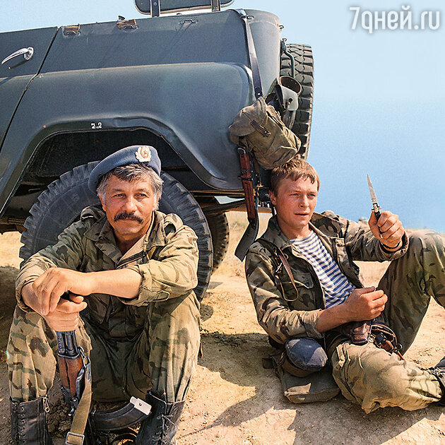 Борис Галкин с Михаем Волонтиром