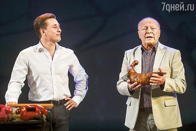 Борис Галкин с Сергеем Безруковым