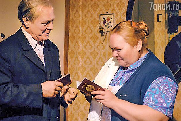 Борис Галкин с Ниной Усатовой