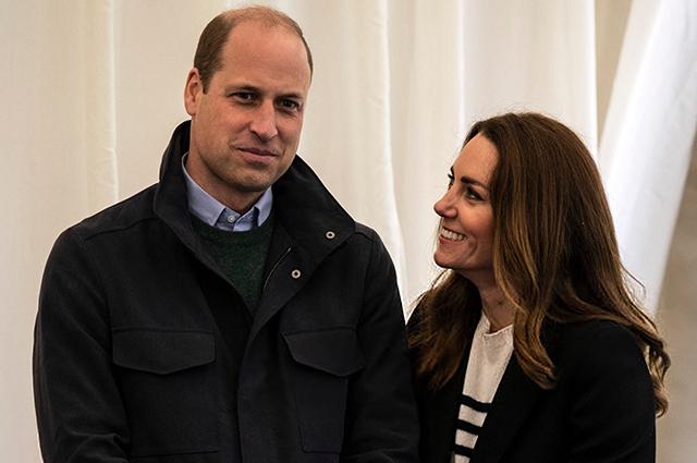 20 лет спустя: Кейт Миддлтон и принц Уильям побывали в университете, где познакомились и влюбились друг в друга