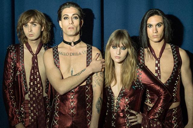 Итальянская рок-группа Måneskin победила на конкурсе