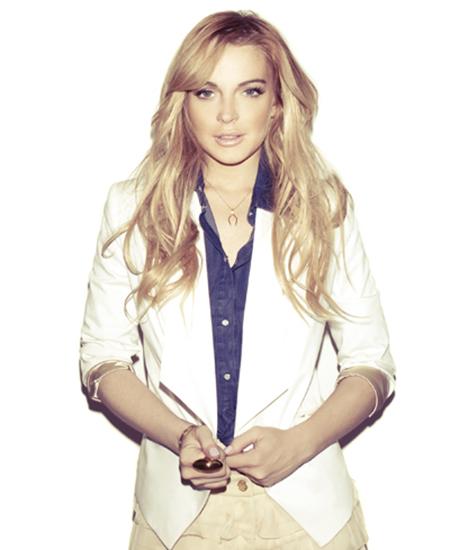 Линдси Лохан в рекламной кампании Kira Plastinina for Lindsay Lohan