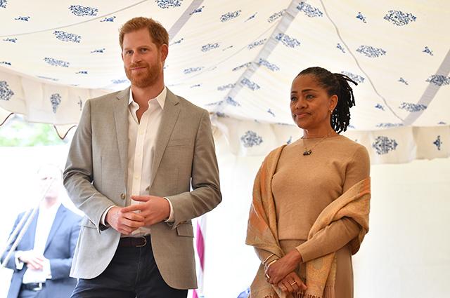 Принц Гарри и Дория Рагланд