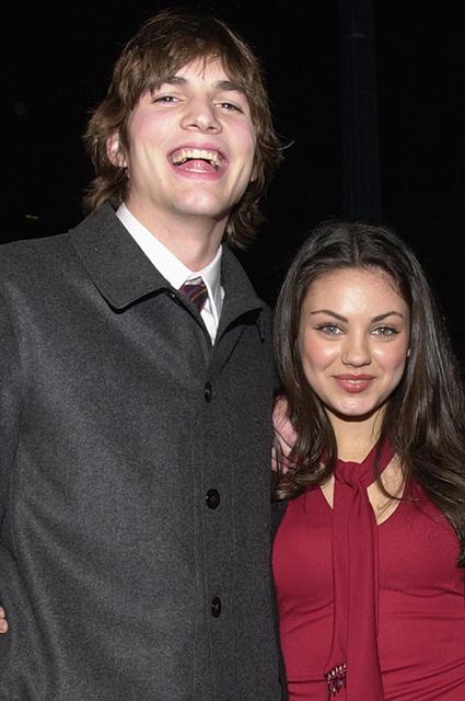 Эштон Катчер и Мила Кунис в 2000 году