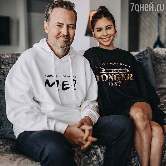 Мэттью Перри и Бриана Бронкато - фото