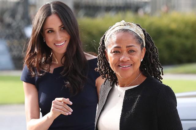Инсайдер рассказал, как  мама Меган Маркл помогает ей и принцу Гарри после рождения их дочери:
