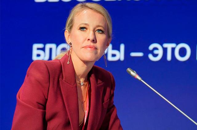 Участница ПМЭФ подала в суд на Ксению Собчак за оскорбительный вопрос. Ей показалось, что ее сравнивают с проституткой