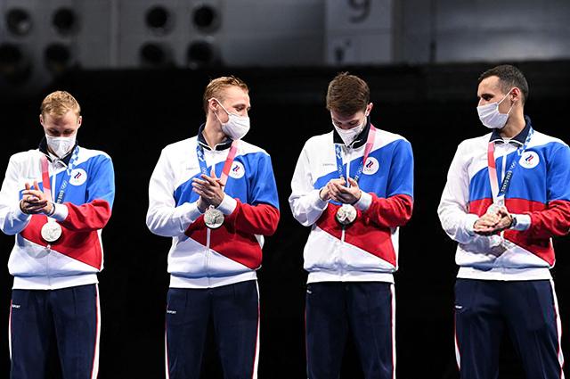 Мужская сборная России по фехтованию