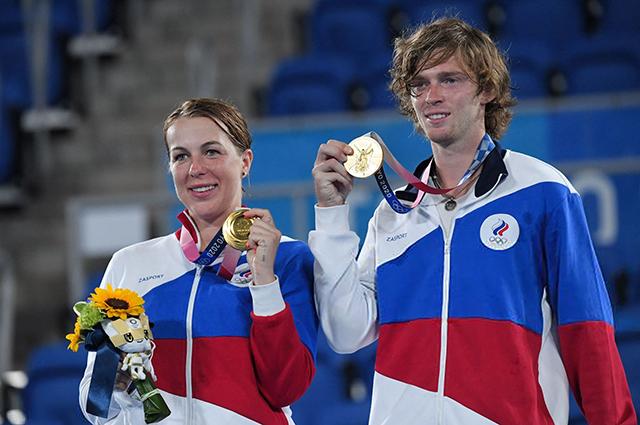 Анастасия Павлюченкова и Андрей Рублев