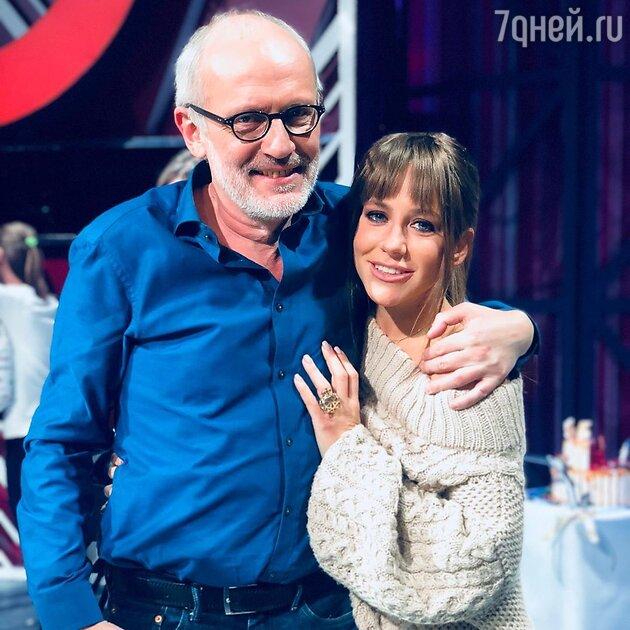 Александр Гордон и Юлия Барановская