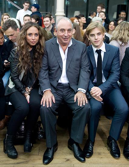 Хлоя, Филип и Брендон Грин