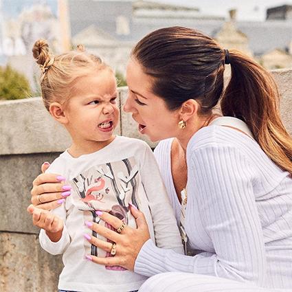 Нюша с дочерью Симбой