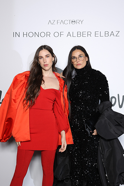 Деми Мур с дочерью Скаут Уиллис