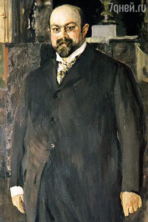 В. Серов. Портрет Михаила Абрамовича Морозова. фрагмент, 1902 г.