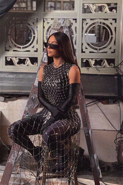 Ким Кардашьян в Balenciaga